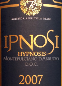Biagi Hypnosis Montepulciano d'Abruzzotext