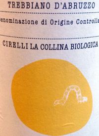 Cirelli La Collina Biologica Trebbiano d'Abruzzotext