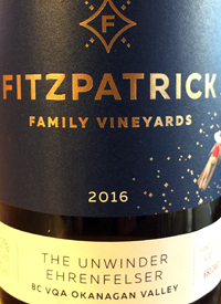 Fitzpatrick Family Vineyards The Unwinder Ehrenfelsertext