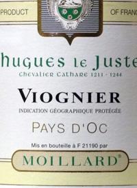 Moillard Viognier Hugues le Justetext