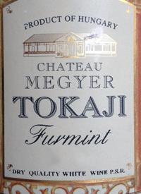 Chateau Megyer Tokaji Furminttext