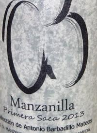 Sacristía AB Manzanilla Primera Sacatext