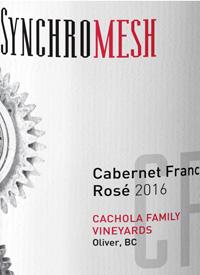 Synchromesh Cachola Family Vineyards Cabernet Franc Rosétext