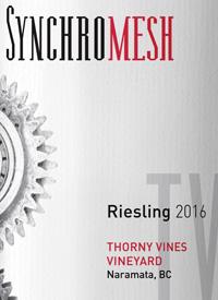 Synchromesh Wines Thorny Vines Rieslingtext