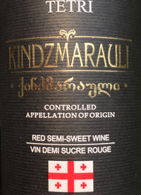 Tetri Kindzmarauli Red Semi Sweet Winetext