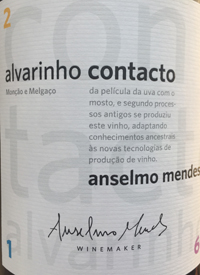 Anselmo Mendes Alvarinho Contactotext