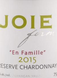 JoieFarm En Famille Reserve Chardonnaytext