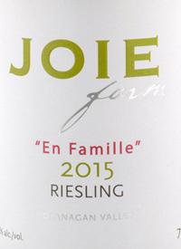 JoieFarm En Famille Rieslingtext