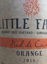 Little Farm Pied de Cuve Orangetext