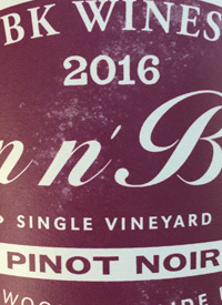 BK Wines Skin n' Bones Pinot Noirtext