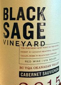 Black Sage Vineyard Cabernet Sauvignontext