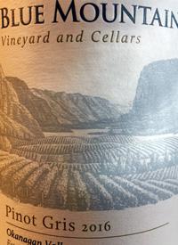 Blue Mountain Pinot Gristext