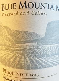 Blue Mountain Pinot Noirtext