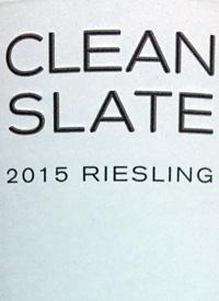 Clean Slate Rieslingtext