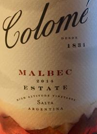 Colomé Malbec Estatetext