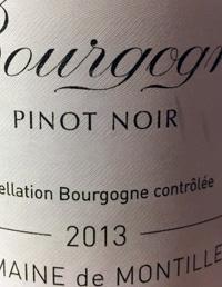 Domaine de Montille Bourgogne Pinot Noirtext