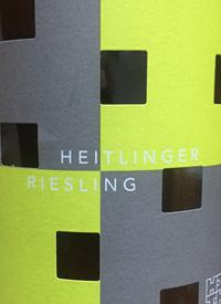 Weingut Heitlinger Riesling Trocken Shiny Rivertext
