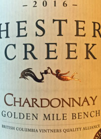 Hester Creek Chardonnaytext