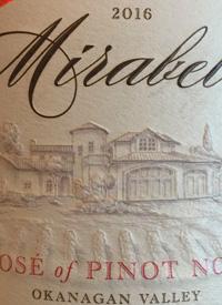 Mirabel Rose of Pinot Noirtext