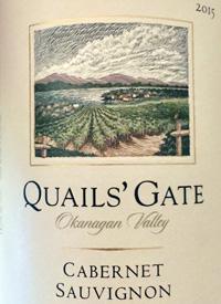 Quails' Gate Cabernet Sauvignontext