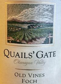 Quails' Gate Old Vines Foch