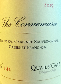 Quails' Gate The Connemaratext