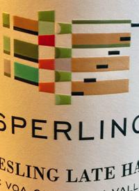 Sperling Late Harvest Rieslingtext