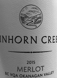 Tinhorn Creek Merlottext