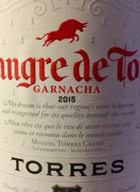 Torres Sangre de Toro Garnachatext