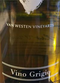 Van Westen Vineyards Vino Grigiotext