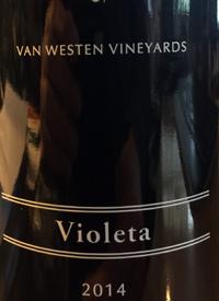Van Westen Vineyards Violetatext