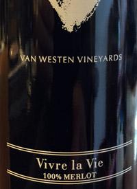Van Westen Vineyards Vivre la Vietext