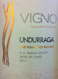 Vigno Undurraga Old Vines Dry-Farmed Carignantext