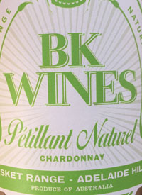 BK Wines Pétillant Naturel Chardonnaytext
