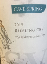Cave Spring Riesling CSVtext