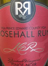 Rosehill Run Rosehall Vineyard Pinot Noirtext