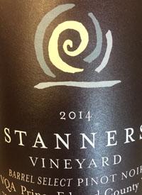 Stanners Vineyard Barrel Select Pinot Noirtext