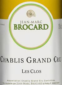 Jean-Marc Brocard Chablis Les Clos Grand Crutext