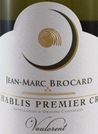 Jean-Marc Brocard Chablis Vaulorent 1er Crutext