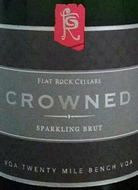 Flat Rock Cellars Crowned Sparkling Bruttext