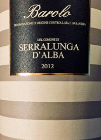 Fontanafredda Barolo Serralunga D'Albatext