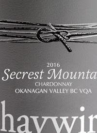 Haywire Chardonnay Secrest Mountain Vineyard