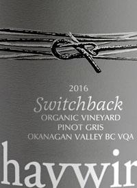 Haywire Switchback Organic Vineyard Pinot Gristext