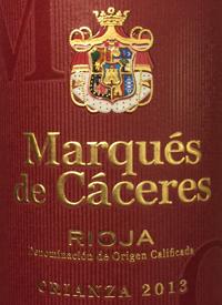 Marqués de Cáceres Crianza