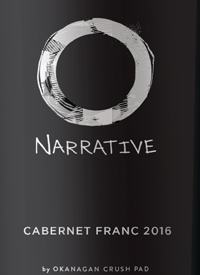 Narrative Cabernet Franc by Okanagan Crush Padtext