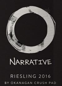 Narrative Riesling by Okanagan Crush Pad