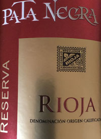 Pata Negra Rioja Reserva