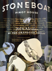 Stoneboat Pinot House Alessiotext