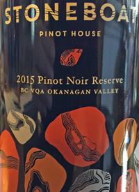 Stoneboat Pinot House Pinot Noir Reservetext