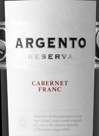 Argento Reserva Cabernet Franctext